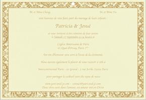 Invitation Mariage Francais Faire Part Designs
